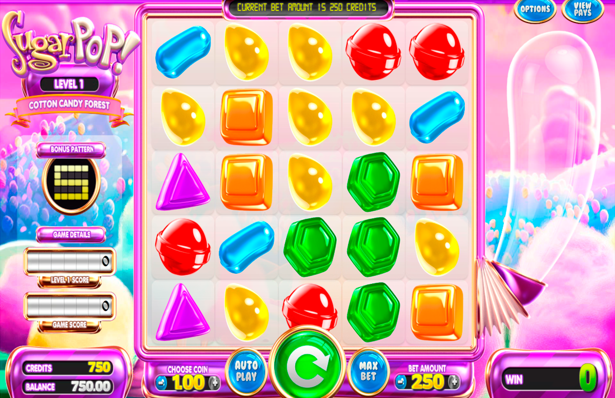 sugar pop betsoft slot