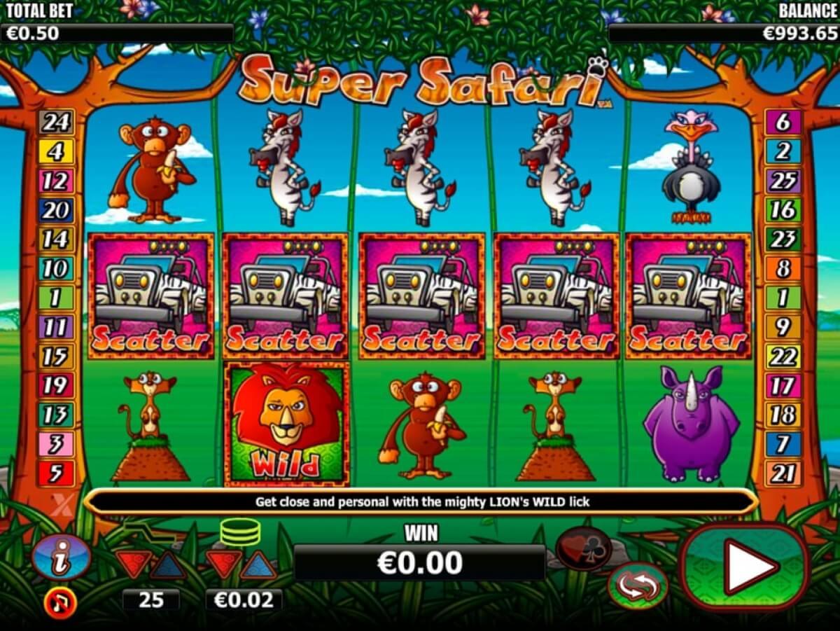 super safari slot gameplay