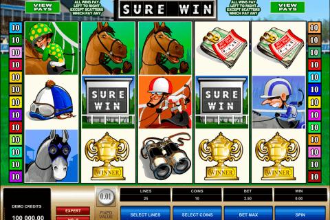 sure win microgaming slot