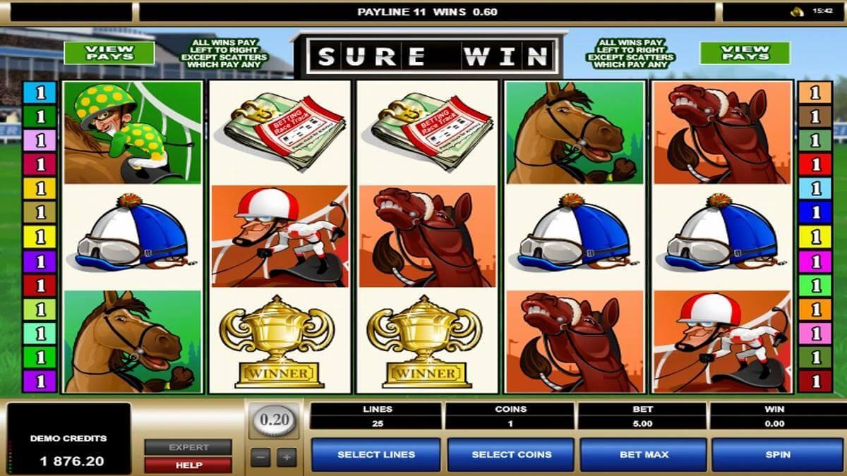 sure win slot gameplay