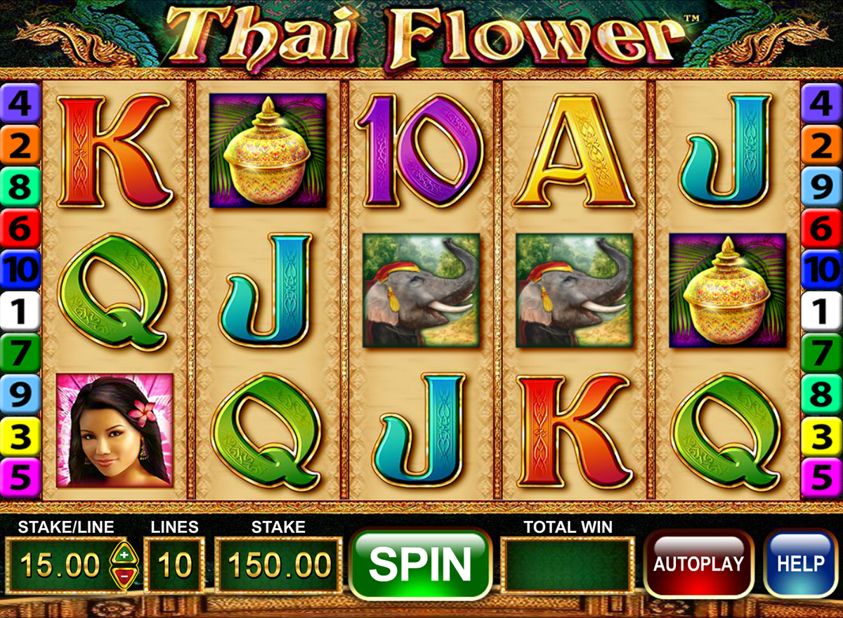 thai flower barcrest slot