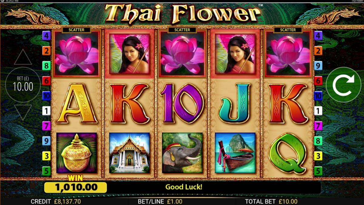 thai flower slot gameplay