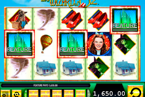 the wizard of oz wms slot