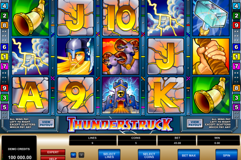 thunderstruck microgaming slot