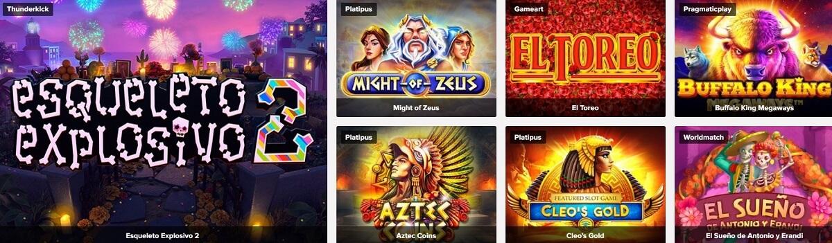 online slots on tusk casino
